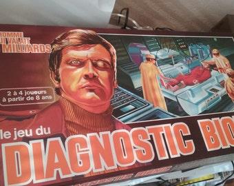 STEVE AUSTIN board game the man who was worth 3 billion BIONIC diagnosis