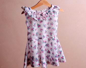 Baby dress/floral french vintage/dress Bohemian/girl