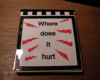 where does it hurt flip cards