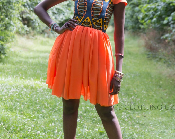 African print dress, evening dress, cocktail African, short dress, party dress