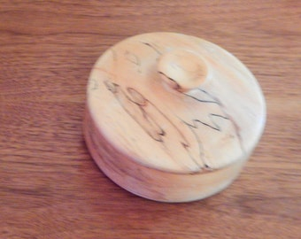 Large handmade wooden jewel box