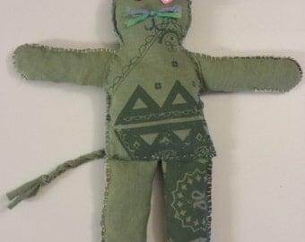 Tiddles - Handmade Cat Rag Doll