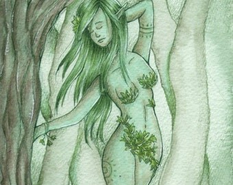 Dryad of the Earth