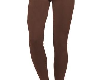 Brown yoga pants | Etsy
