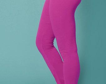 hot yoga leggings, hot yoga pants, purple leggings, plus size leggings, violet leggings, athletic leggings, workout leggings, yoga clothing