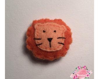 Mini Lion Felt Cushions