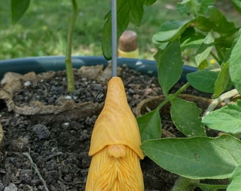Hand carved basswood gnome #4