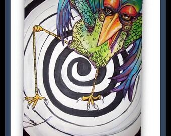 Angry bird painting