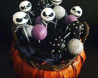 Nightmare Before Christmas Cake-Pops