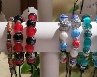 Beaded Bracelets and Bangles