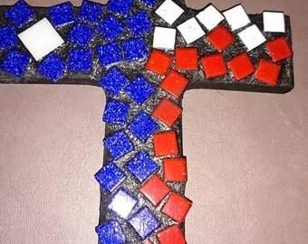 Texas Flag Cross