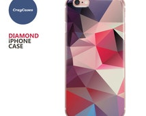 iPhone 6s Case diamond, iPhone 7 case, diamond iphone 6 Plus case, iPhone 6 cover, stylish diamond, abstract diamond case [Shipped From UK]
