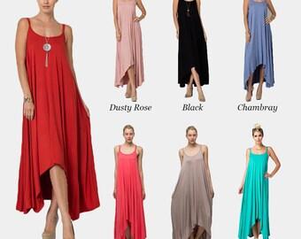 Jersey Knit Romper Dress