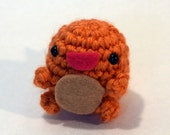 Cute Crochet Charmander Pokémon Amigurumi Plush