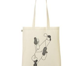 Abstract bag Tote