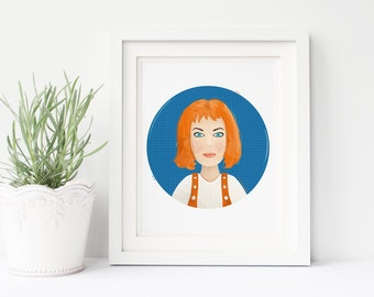 Leeloo - The Fifth Element.