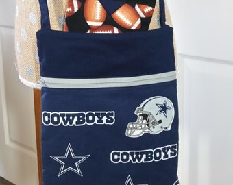Handmade by CMarie with Dallas Cowboy Fabric