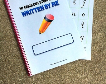 My Second Guided Writing Story Book
