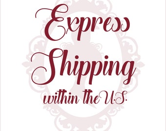 Express Shipping within the United States