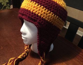 College stadium hat