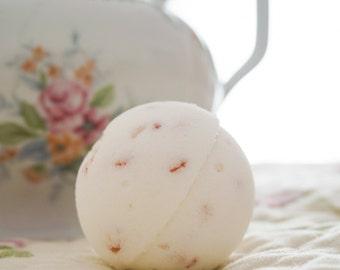 Bathbomb a-bomb buzzy bathroom-ballistics Himalayan pink salt