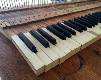 Reclaimed Antique Piano Keys