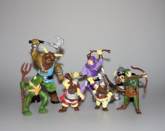 TSR Advanced Dungeons & Dragons Lot of 7 Figures Vintage 1982