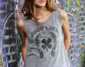Good Luck Sleeveless Tee