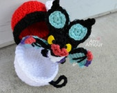 Noivern amigurumi plush Pokemon bat crochet