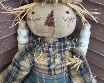 VERY Primitive, EXTREME Primitive, Country, Scarecrow, Fall, Autumn, Harvest, TeamHAHA, Hafair, Blue, Orange, Old Cloth, Rag Doll by Mustard