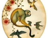 La Bizarre Singerie - Print - Natural History