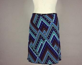 Skirt, Snap Skirt Blue, classic skirt