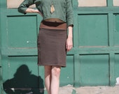 Hemp Winter Pencil Skirt