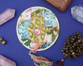 Altar Quilt - Fruitful Hamsa