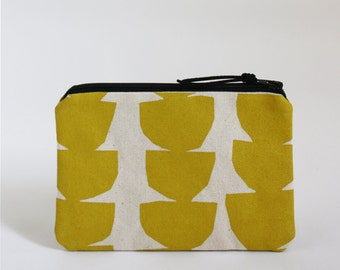 ARC - Mini Zip Pouch in Yellow
