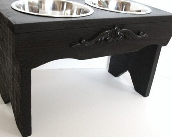 Elevated Dog Feeder, Feeding Stand, Dog Bowls, Pet Furniture, Custom