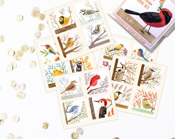 52 Birds Sticker Set - limited edition, perfect for planners