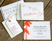Hawaii Luggage Tag Magnets - Map Save the Dates - Design Fee