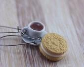 Cookie and Coffee Earrings