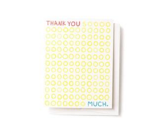 Thank You SOO Much Card