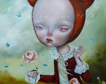 Devil and butterflies - limited edition giclee 7/50