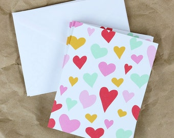 Hearts - Notecard Set