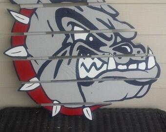 Gonzaga University Bulldogs  - Zags Wood Pallet Sign - Handmade