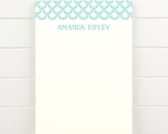 CRESCENT Personalized Notepad - Modern Custom Letterhead