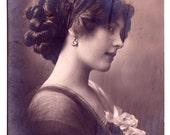 Beautiful Vintage Photo Postcard Foreign  European