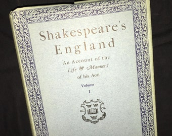 1950 Shakespeare's England, Volume 1