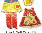 KIT Size 5: Doll Dress Clothing Kit Fairy Tale pattern for dolls