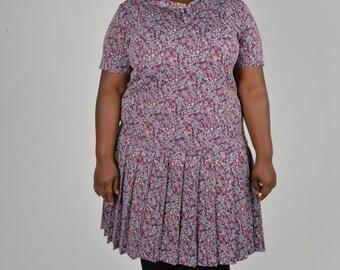 Vintage size 24 26 1980s Dress