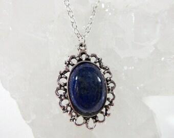 Dark Blue Lapis Lasuli Necklace