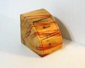 Treasure Box With Secret Drawer Made of Fancy Boxelder Wood